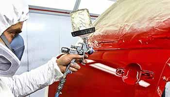 Локальная покраска кузова автомобиля | Кузовной ремонт автомобиля