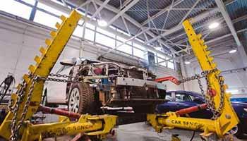 Восстановление геометрии кузова | Кузовной ремонт автомобиля
